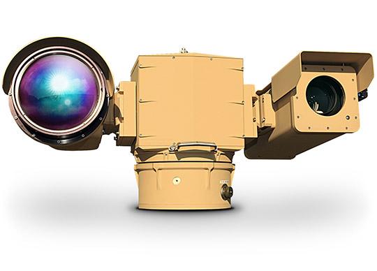 Long range flir thermal PTZ camera